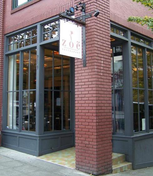 restaurant zoe