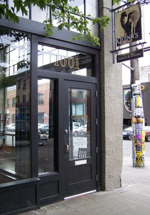quinn's door